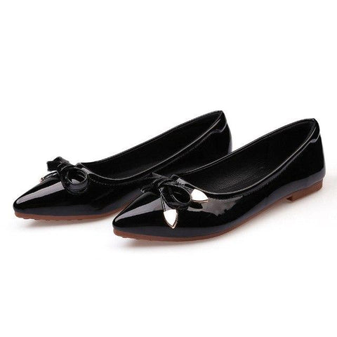 Bowtie Flat Shoes