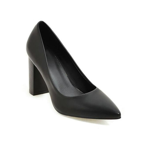 Patent Leather Pointed Toe Women
