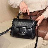 Genuine Leather Vintage Shoulder Handbags
