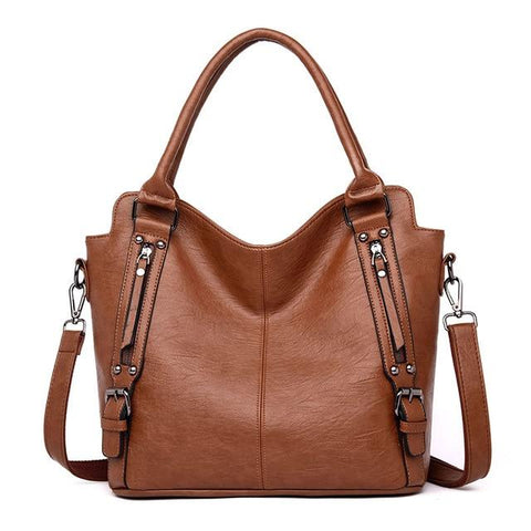 High Quality Leather Shoulder Handbags