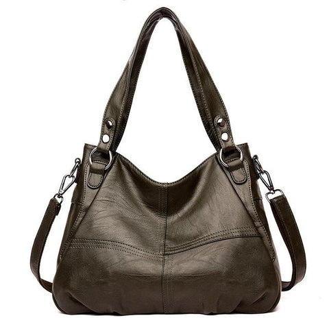 Genuine Leather Office  Shoulder Totes