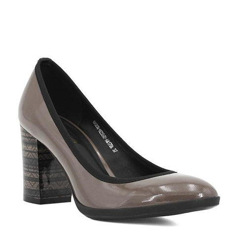 Elegant Thick Heels Office Pumps