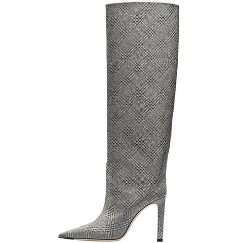 Thin High Heel Boots