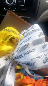beautiful world lanyards