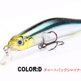 Retail A+ Fishing Lures Assorted Colors Minnow Crank 80Mm 8.5G Magnet System. Bearking 2016 Hot Model Crank Bait - D
