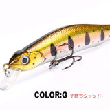 Retail A+ Fishing Lures Assorted Colors Minnow Crank 80Mm 8.5G Magnet System. Bearking 2016 Hot Model Crank Bait - G