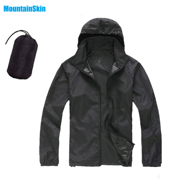 Men&Women Quick Dry Skin Jackets Waterproof Anti-UV Coats Outdoor Sports Brand Clothing Camping Hiking Male&Female Jacket MA014 - Xtrem Shopping