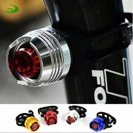 LED Waterproof Bike Bicycle Cycling Front Rear Tail Helmet Red Flash Lights Safety Warning Lamp Cycling Safety Caution Light T43 - Xtrem Shopping