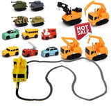 Original Inductive Car Diecast Vehicle Magic Pen Toy Tank Truck Excavator Construt Follow Any Line You Draw Xmas Gifts for Kid - Xtrem Shopping