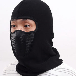 Cycling Winter Fleece Warm Full Face Cover Anti-dust Windproof Ski Mask Snowboard Hood Anti-dust Bike Thermal Balaclavas Scarf - Xtrem Shopping