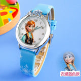 Cartoon Children Watch Princess  Watches Fashion Kids Cute rubber Leather quartz Girl - Xtrem Shopping