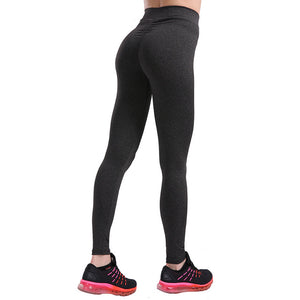 Fashion Push Up Leggings Women Workout Leggings Slim Leggings Polyester V-Waist Jeggings Women Pencil Pants - Xtrem Shopping