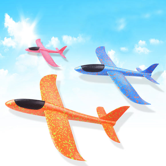 2018 DIY Kids Toys Hand Throw Flying Glider Planes Foam Aeroplane Model Party Bag Fillers Flying Glider Plane Toys For Kids Game - Xtrem Shopping