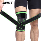 AOLIKES 1PCS 2018 Knee Support Professional Protective Sports Knee Pad Breathable Bandage Knee Brace Basketball Tennis Cycling - Xtrem Shopping