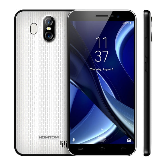HOMTOM S16 3G Smartphone Original Android 7.0 MTK6580 Quad-Core 1.3GHz 2GB RAM 16GB ROM 8.0MP Front Camera Back Camera 13.0MP - Xtrem Shopping