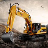 DODOELEPHANT 1:50 Alloy Excavator Truck Car Autotruck Breaking Hammer Vehicles Model Diecast For Boys Toy Gift Kid Excavator TOY - Xtrem Shopping