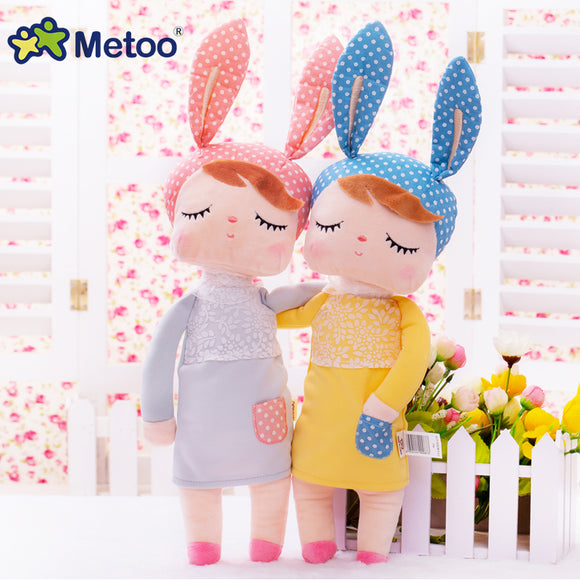 Metoo Doll Stuffed Toys Plush Animals Soft Kids Baby Toys for Girls Children Boys Birthday Gift Kawaii Cartoon Hot Angela Rabbit - Xtrem Shopping