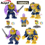 Single Sale Super Heroes Deadpool 2 Infinity War Thanos Captain America Batman Spiderman Outrider Building Blocks Children Toys