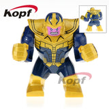 Single Sale Super Heroes Deadpool 2 Infinity War Thanos Captain America Batman Spiderman Outrider Building Blocks Children Toys - 815