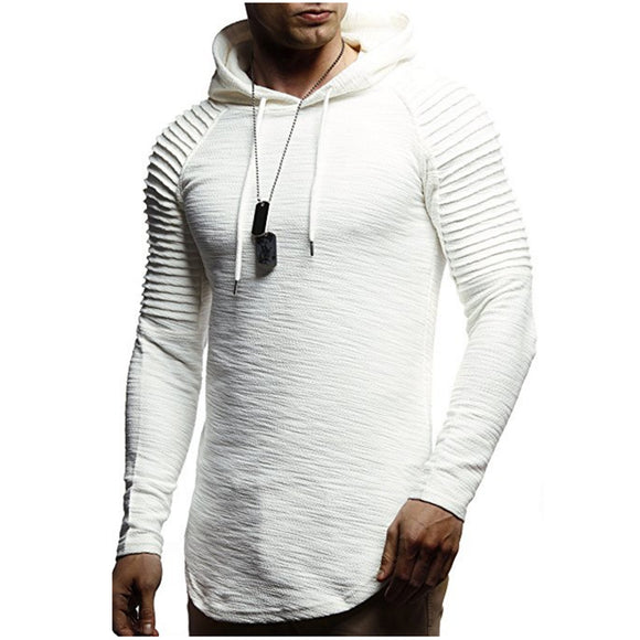 2018 New Mens Hoodies Brand Fashion Men Solid Color Sweatshirt Male Hoody Hip Hop Autumn Winter Hoodie Mens Pullover XXXL - Xtrem Shopping