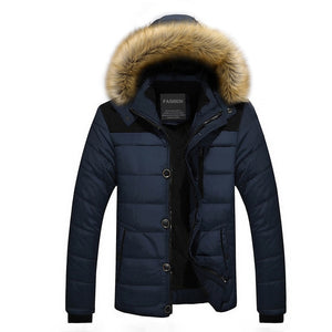 2018 New Arrival Warm Winter Jacket Men Hooded Casual Slim Parka Men's Winter Coat - Xtrem Shopping
