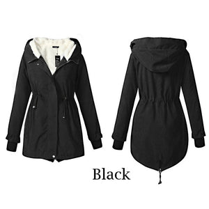 Women Parkas Winter Coats Hooded Thick Cotton Warm Female Jacket Fashion Mid Long Wadded Coat Outwear Plus Size 4XL KWT5120 - Xtrem Shopping