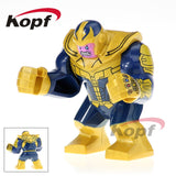 Super Heroes Single Sale Avengers 3 Thanos Infinity Gauntlet With 24Pcs Power Stones Building Blocks Children Gift Toys Kf805 - 815 Without