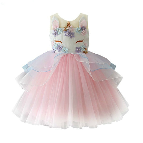 Happy Birthday Costume New Arrival Girl's Princess Dress Party Dresses Christmas Outfits Kid's Outwear Children Girl's Clothing - Xtrem Shopping