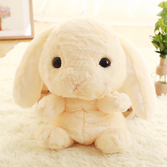 Cute rabbit plush backpack cartoon stuffed plush doll children school bag gifts for kids - Xtrem Shopping