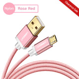 Ugreen Micro Usb Cable 2.4A Nylon Fast Charge Usb Data Cable For Samsung Xiaomi Lg Tablet Android Mobile Phone Usb Charging Cord - China /