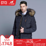 ICEbear 2018 Fashion Winter New Jacket Men Warm Coat Fashion Casual Parka Medium-Long Thickening Coat Men For Winter 15MD927D - Xtrem Shopping