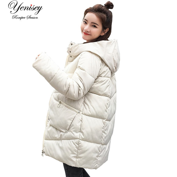 parka women 2018 Winter Jacket Women Coats Hooded Coats Female Parka Thick Cotton Padded Lining Winter Female Coats YY8801 - Xtrem Shopping