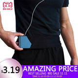 Lady Men Running Phone Bag Pouch Jogging Belt Race Marathon Cycling Waist Belly Bag Bumbag Waistbag Wallet Gym Sport Accessories - Xtrem Shopping