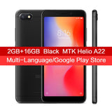 "Global Version Original Xiaomi Redmi 6A 2GB RAM 16GB ROM Smartphone MTK Helio A22 Quad Core 1440x720 5.45"" 3000mAh 13.0MP Camera - Xtrem Shopping"