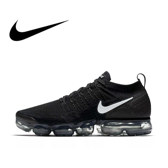 Original NIKE AIR VAPORMAX FLYKNIT 2.0 Running Shoes Men Breathable Durable Athletic Low Cut Comfortable Sports Outdoor Sneakers - Xtrem Shopping