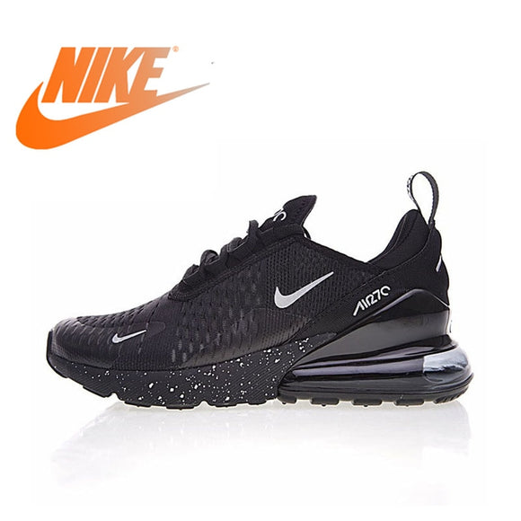 c79d29fef505f3 Original Nike Air Max 270 Men s Breathable Running Shoes Sport 2018 New  Arrival Authentic Outdoor Sneakers