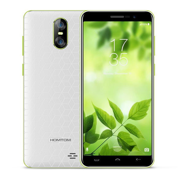 HOMTOM S12 3G Smartphone 5.0 inch Android 6.0 MTK6580 Quad Core 1GB RAM 8GB ROM 8MP + 2MP Dual Rear Cameras S12