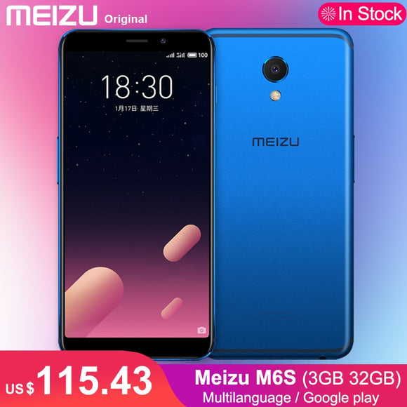 Original Meizu M6S 32GB 3GB Mobile Phone Hexa Core Exynos 7872 5.7