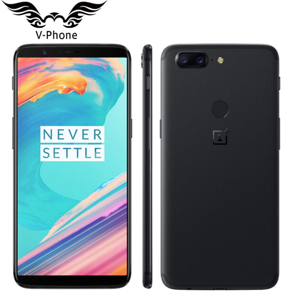 6.01 inch Oneplus 5T 8GB 128GB 4G Mobile Phone Android Snapdragon 835 Octa Core 16MP 20MP Dual Back Cameras NFC Smartphone - Xtrem Shopping