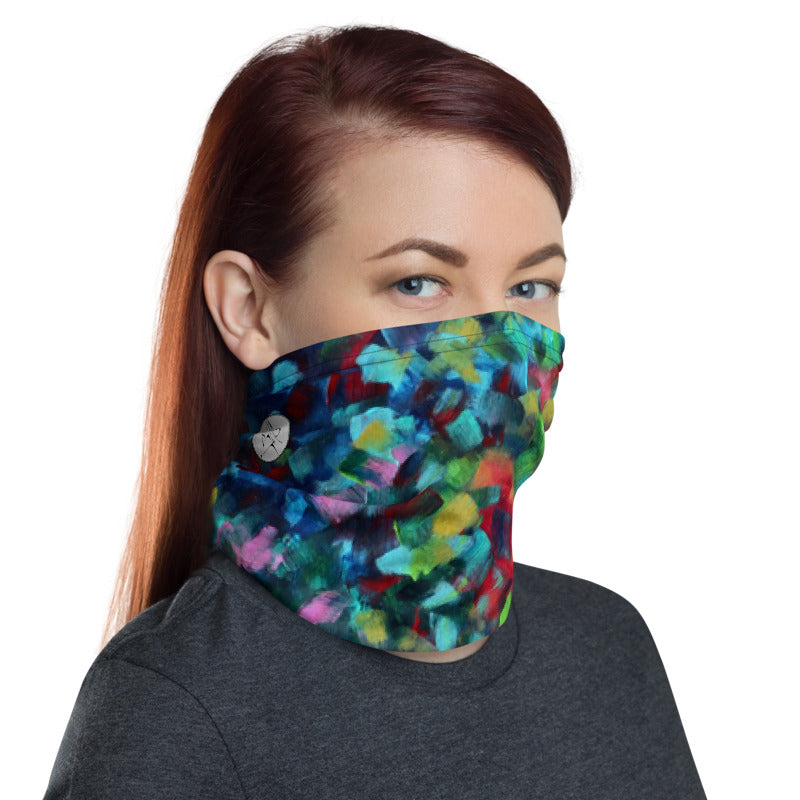 """Color Blast"" Unisex Neck Gaiter"