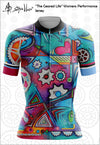 "SOLD OUT!  ""The Geared Life"" Womens Jersey Performance Fit MAD Shredders™"