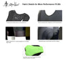 """MAD Stache Mens Cycling Bib Shorts Mustache Design - Performance Fit MAD Shredders™"