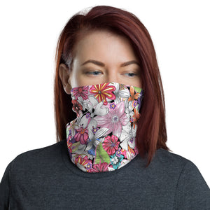 """Summer Florals"" Neck Gaiter"