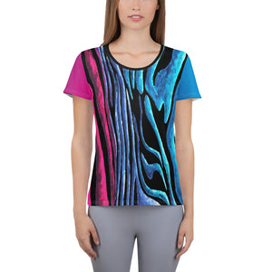 """Miami Lines"" All-Over Print Women's Athletic Jersey Shirt"