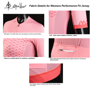 """Embrace Life"" Womens Cycling Kit Design 2 Performance Fit MAD Shredders™"