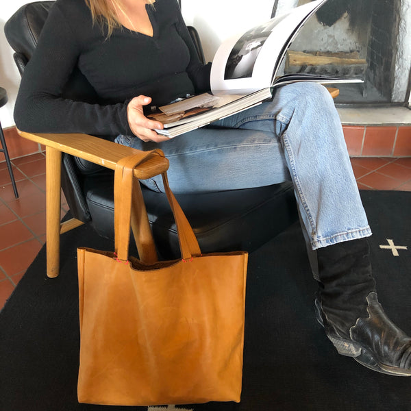 Santa Fe Leather Tote