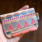 Ami Hand Painted Mini Wallet