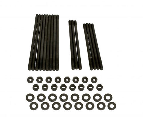 "EMPI 4010 1/2"" Longer 10mm Chromoly Case Stud Kit, for Dual Port Heads"