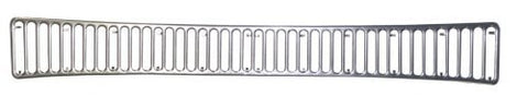 EMPI 6423 Rear Air Intake Grille, Aluminum, (42 Slots) Type 1 Super Beetle Only 73-77