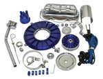 EMPI 8654 Super Color Deluxe Engine Kit, Blue